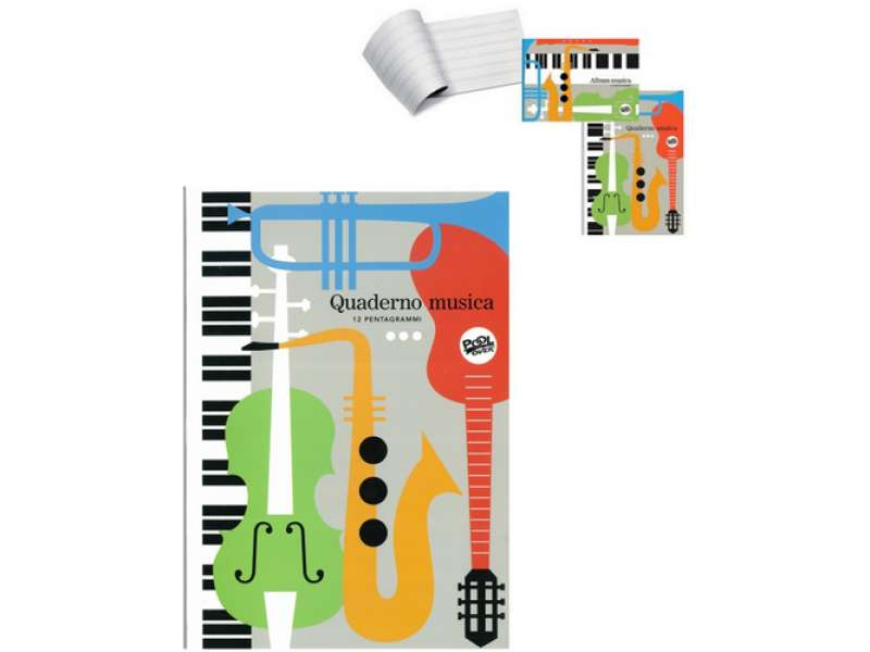 Album e Quaderno Musica P.Over