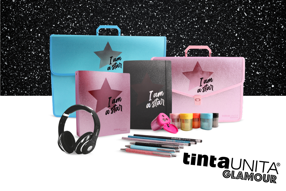 Tinta Unita Glamour I am a Star