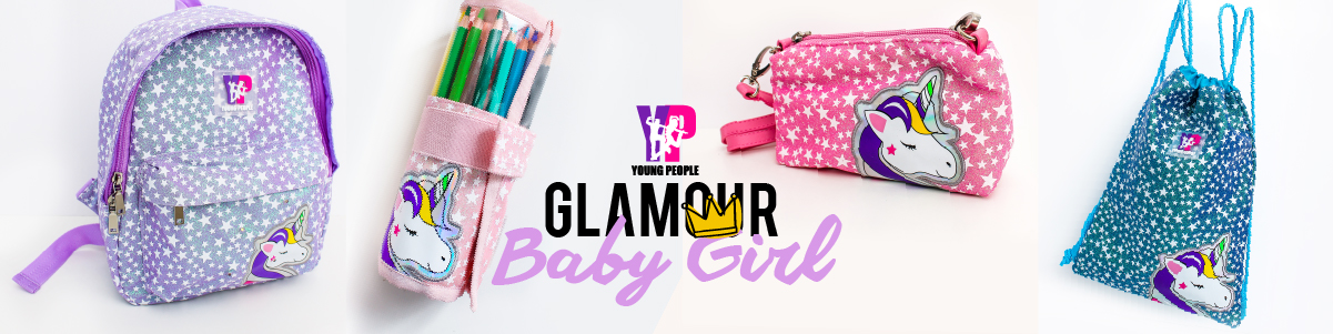 Young People Glamour Baby Girl
